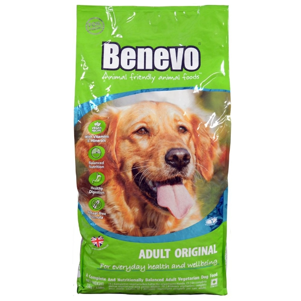 Benevo Vegan Adult Original Dog Food 15kg
