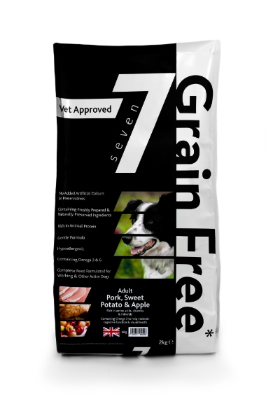 Seven Adult Grain Free Dog Food Salmon Trout Sweet