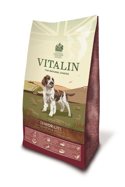 Vitalin Natural Senior Lite Salmon Potato 12kg